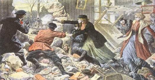 1907 - Близ станции Безенчук боевой группой партии эсеров была ограблена казенная почта на сумму 30 тысяч рублей.